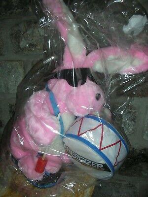 "Vtg Energizer Battery Bunny Pink Plush Big 23"" Stuffed Bunny Rabbit Toy Battery"