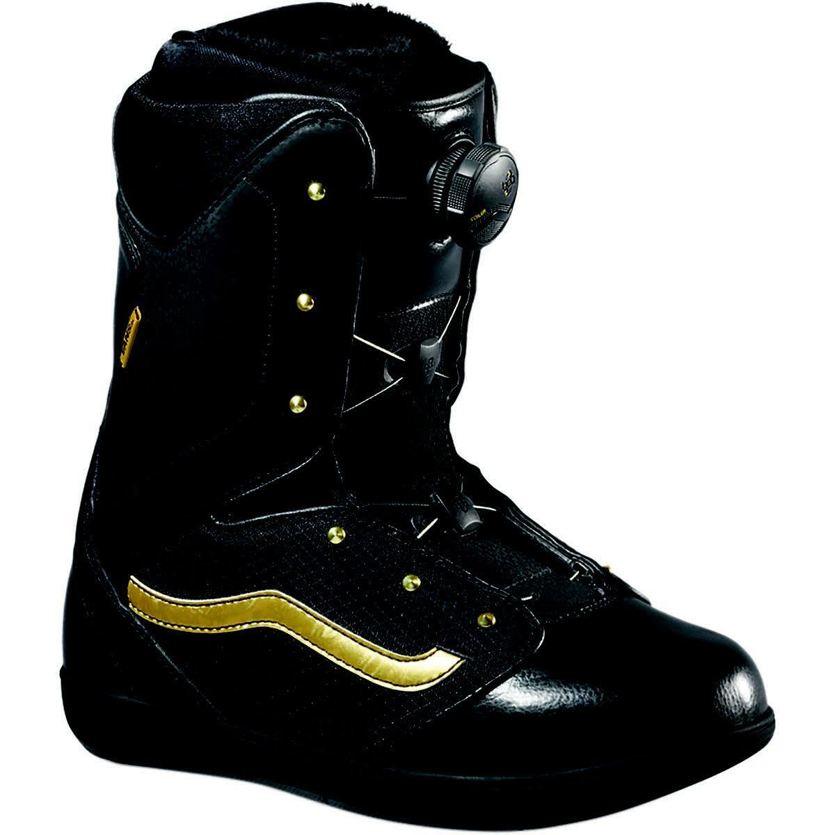 Vans Women Encore Snowboard Boots (7.5) Black / Gold