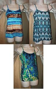 Womens-Size-L-Tank-Cami-Tops-Adjustable-Strap-Choose-From-3-Styles-Brand-NEW