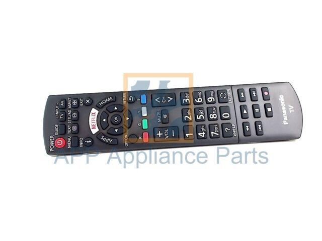 Original Panasonic Remote control N2QAYB001008 TH65CX700A TH50CX740A TH55CX740A