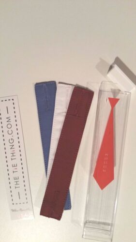 TheTieThing.com-Free ship Necktie Restraint The Tie Thing 3-Pack Tie Holder