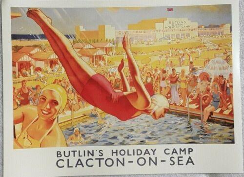 Multiple Listing Posters 40cm x 30cm Travel GB