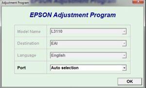 Details about Reset Epson L3110
