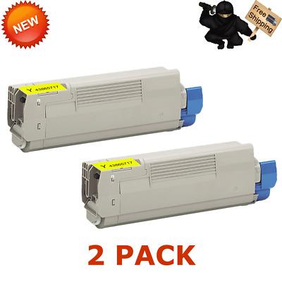 3PK CMY Toner Set for Okidata Oki C6150 C6150N C6150DN C6150DTN MC560 MC560DN