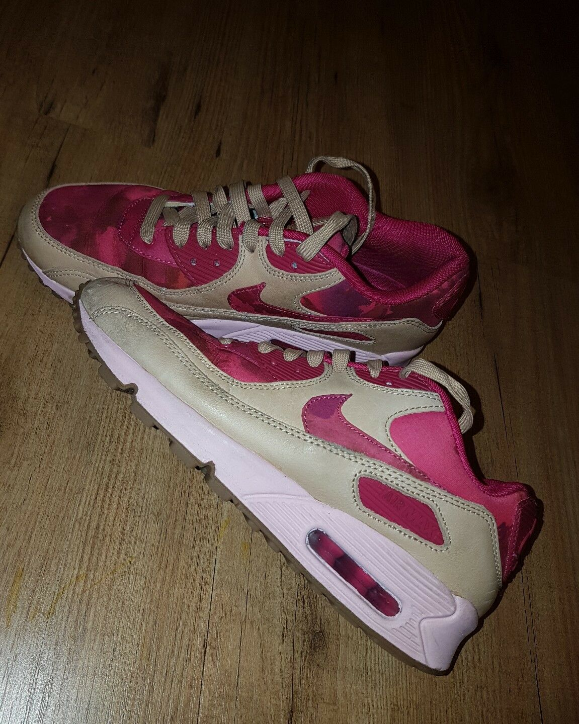 NIKE AIR MAX 90 LIBERTY  LONDON   555283-600  Größe uk4.5   eu 38 us7 b54bdf