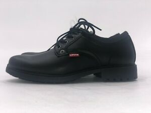 all black levis shoes