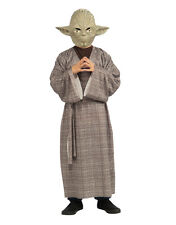 """Star Wars Kids Yoda Costume Style 2, Large,Age 8-10, HEIGHT 4' 8"""" - 5'"""