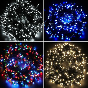 Christmas Led.Details About Led Chaser Lights Super Bright Indoor Outdoor Christmas Lights White Blue Multi