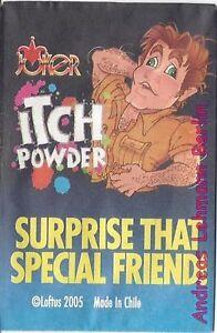 Juckpulver Scherzartikel Itching Powder Poil a Gratter Jucken Lachen Streich Gag