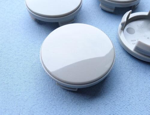 4x tapacubos embellecedores llantas tapa viga 54,5 mm 51,0 mm gris para ford f3