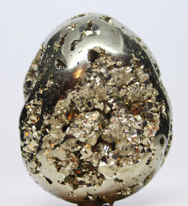 Medium-Large-Pyrite-Egg-Vugs-100s-Facets-Crystal-Mineral-Faces-Video-Below-A17