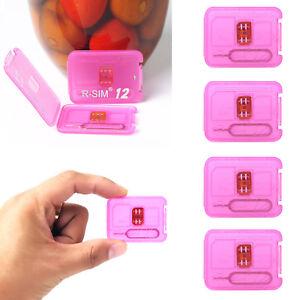 RSIM-12-2018-R-SIM-Nano-Unlock-Card-For-iPhone-8-X-7-6S-5S-LTE-4G-iOS10-11-Lot