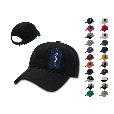 1 Dozen Decky Vintage Frayed Washed Vintage Polo Dad Hats Caps 6 Panel Wholesale