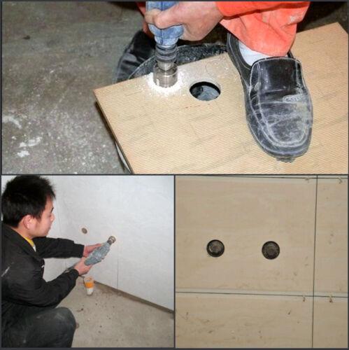 Diamond Crown 16-120mm Positioning Center Diamond Drill Bit Drilling Tile Drilli