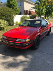 1991 Pontiac convertible v6
