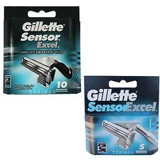 80 Gillette Sensor Excel Rasierklingen 80 Stück Doppelklinge in 16x 5er in OVP