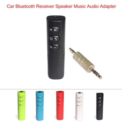 Wireless Bluetooth Phone To 3.5mm AUX Car Stereo Audio Music Receiver Adapter US