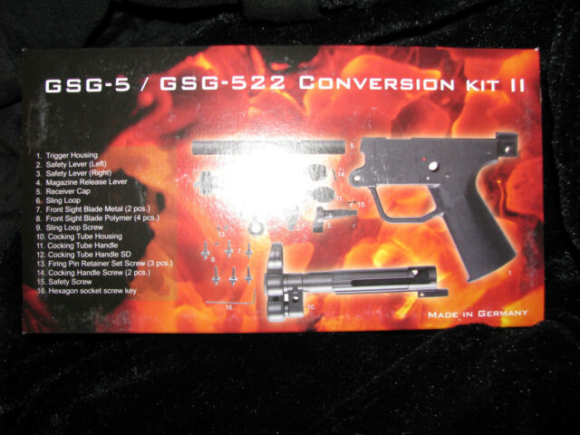 GSG 5 522 Conversion Kit II HK MP 5 Style German Kit Spare Parts
