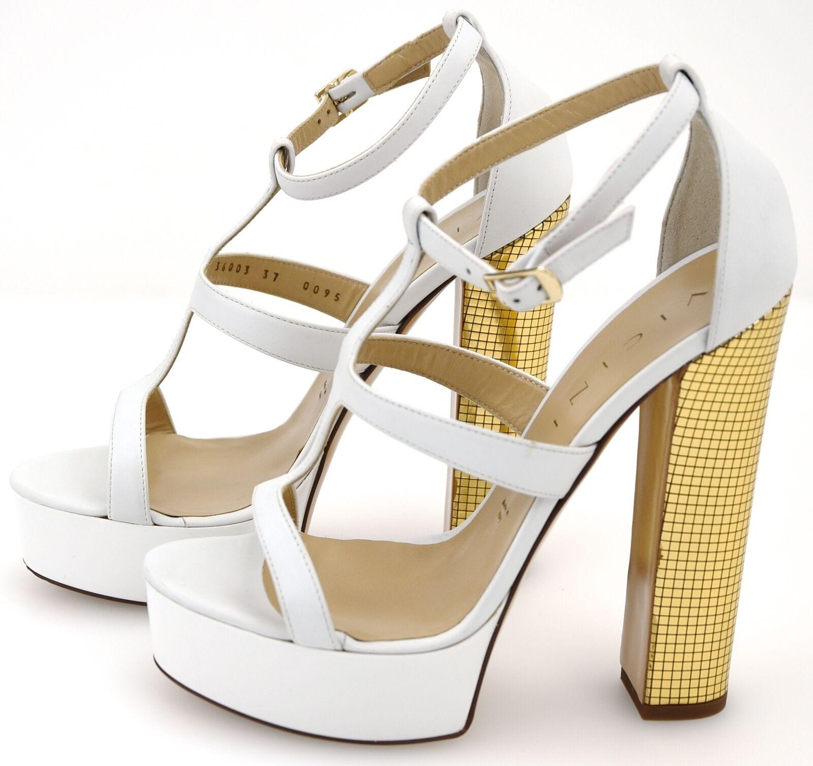 Vicini Vicini Vicini Mujer Tacones Altos Sandalias Zapatos Cuero Bloque Tacones código C30003 defecto  artículos de promoción