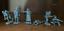 miniature 9 - Soldatini di Plastic Platoon  Cecchini tedeschi  La seconda guerra mondiale 1/32