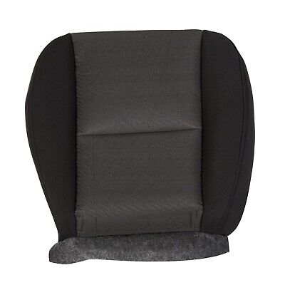 2010-2014 SILVERADO SIERRA TAHOE DRIVERS SEAT BOTTOM COVER BLACK NEW #  20833416