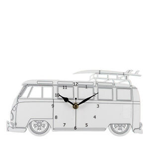 VW-Splitscreen-Bay-Window-Camper-Van-Acrylic-Wall-Clock-WC-WH-VWC04