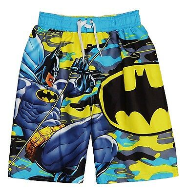 Boys bathing suit xs 4//5 Batman v Superman swim trunks swimsuit UV protection