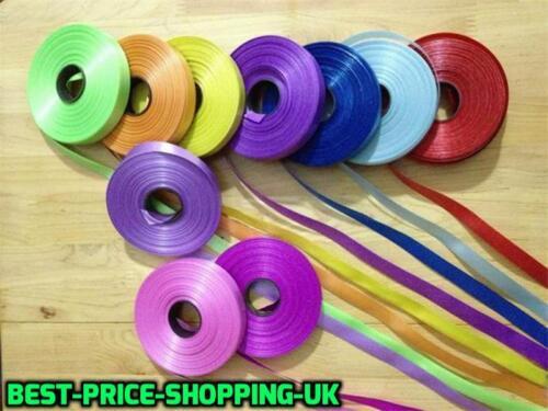 Choice of Colour 100xMeter Balloons Curling RIBBON Wedding Party Balloon Ribbons