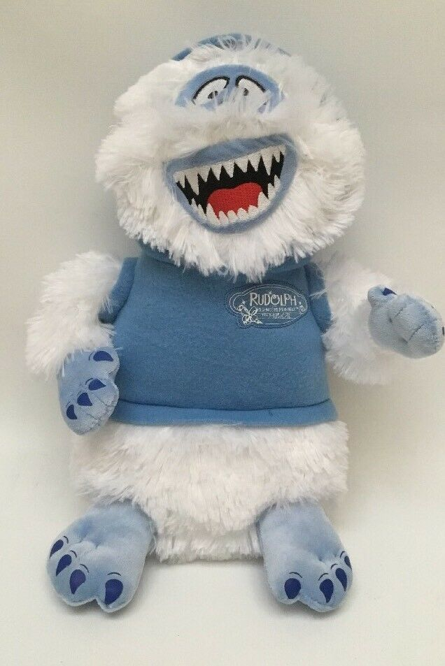 Rudolph the Red Nosed Reindeer THE MUSICAL MUSICAL MUSICAL Bumble Abominable Snowman Plush Doll a10080
