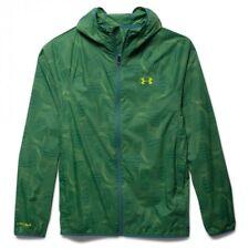 Mens Under Armour Storm 2 Anemo Windbreaker Jacket Green Print 1271477 XL
