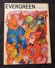 1966 EVERGREEN REVIEW Magazine 40 FN+ 6.5 Jack Kerouac Allan Ginsberg Zeit-Geist