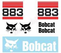 Bobcat 883 Skid Steer Set Vinyl Decal Sticker - Aftermarket