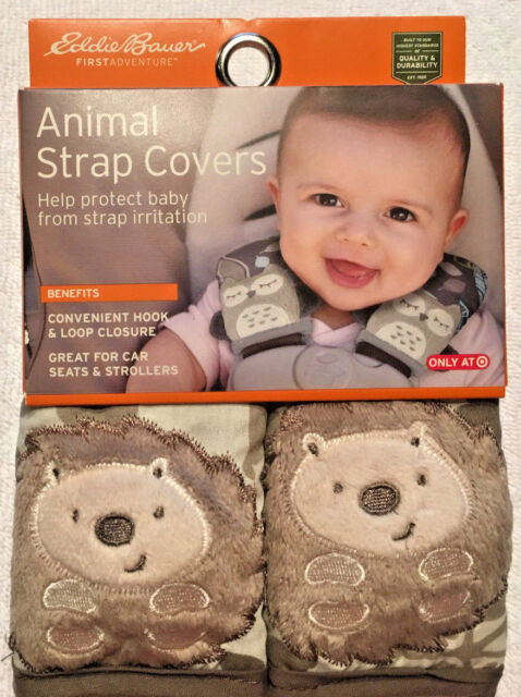 Eddie Bauer Animal Strap Covers Car Seats Strollers Lions