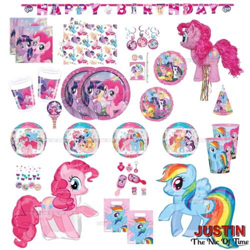 MY LITTLE PONY Girls Birthday Party Supplies Childrens Tableware Decorations
