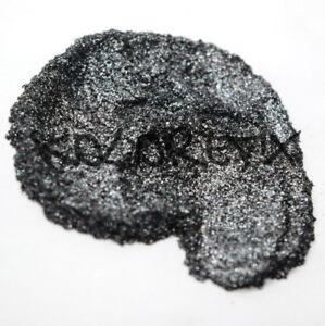 Black Ice Pearl Glitter Effect Pigment for Plastidip Art paint Halo Polish