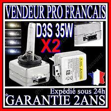 2 AMPOULES D3S 35W 12V LAMPES DE RECHANGE REMPLACEMENT FEU XENON KIT HID 8000K