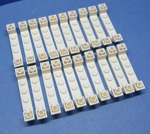 LEGO 20 x Stein 6x1 schräg negativ Dachstein 45° weiß white slope 52501 4259937