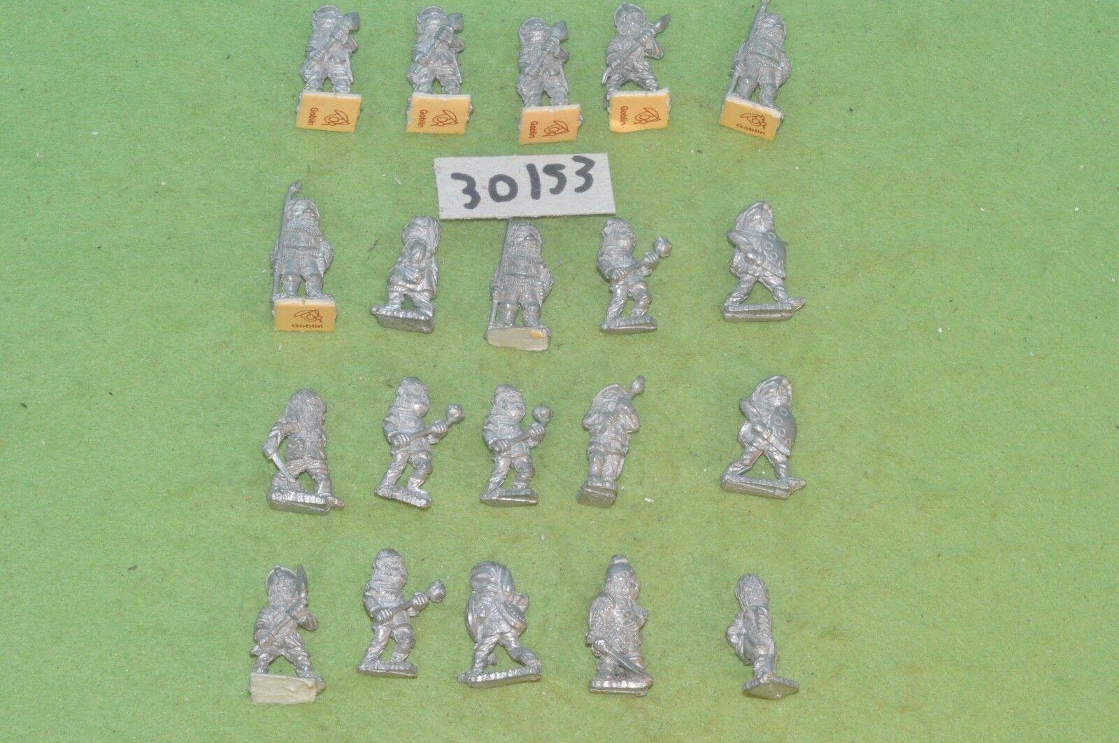 Dwarf warriors 20 metal sigmar order fantasy (30153) warhammer