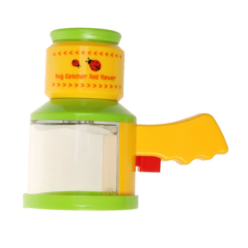 Portable Bright Colored Magnifier Kids Outdoor Insect Catcher Box Bug Viewer