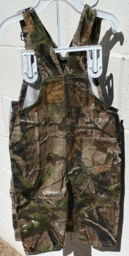 West Virginia Mountaineers Toddler Camo Overalls 2T 3T 4T NWT Youth Real Tree