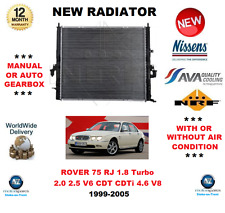 PER ROVER 75 RJ 1.8 Turbo 2.0 2.5 V6 CDT CDTI 4.6 V8 1999-2005 NUOVO Radiatore