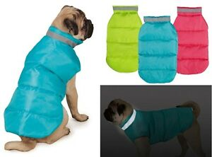 Puffy-Dog-Vest-USA-Seller-7-Sizes-3-colors-Coat-Jacket-Reflective-Warm-Puffer