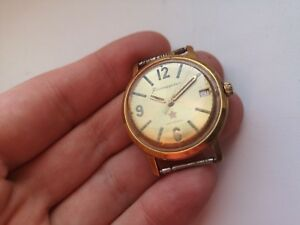 Early-RARE-USSR-WATCH-Komandirskie-Zakaz-MO-CCCP-Chistopol-gewartet
