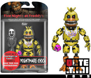 """/""""Nightmare Chica/"""" Action Figurine Five Nights at Freddy/'s"""