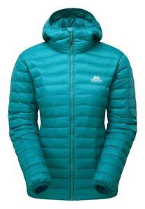 newest e4943 07cec Details zu Mountain Equipment Frostline Jacket Women leichte Damen  Daunenjacke mit Kapuze