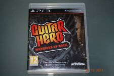 Guitar Hero Warriors Of Rock Ps3 Playstation 3 ** GRATIS UK FRANQUEO!! **
