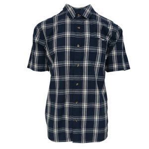 Vans-Off-The-Wall-Men-039-s-Dress-Blue-Stafford-S-S-Woven-Shirt-Retail-44-50