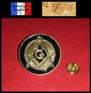 1-Pins-NEUF-en-Metal-Brooch-Franc-Macon-Freemason-Masonic