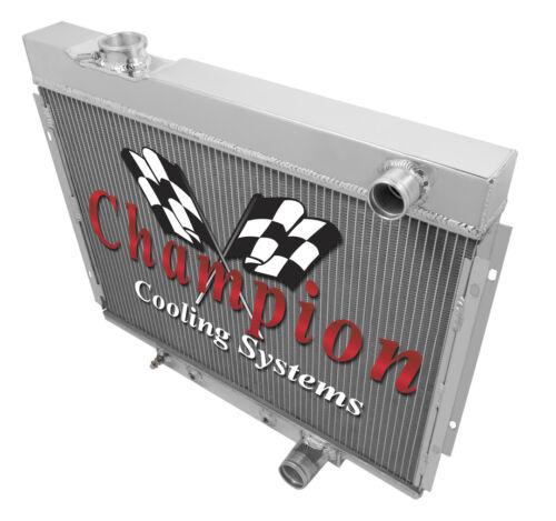 3 Row SZ Champion Radiator for 1964-1966 Ford Galaxie Small Block V8