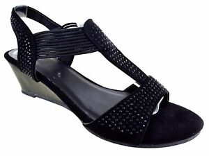 LADIES-WOMENS-FANCY-PARTY-DRESS-BEACH-SUMMER-LOW-HEEL-WEDGE-SANDALS-SHOES-SIZE